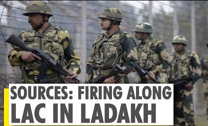 India-China border clash: Firing takes place on LAC in Eastern Ladakh