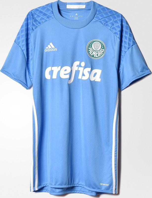 b843b2b9cf Adidas lança nova camisa de goleiro do Palmeiras - Show de Camisas