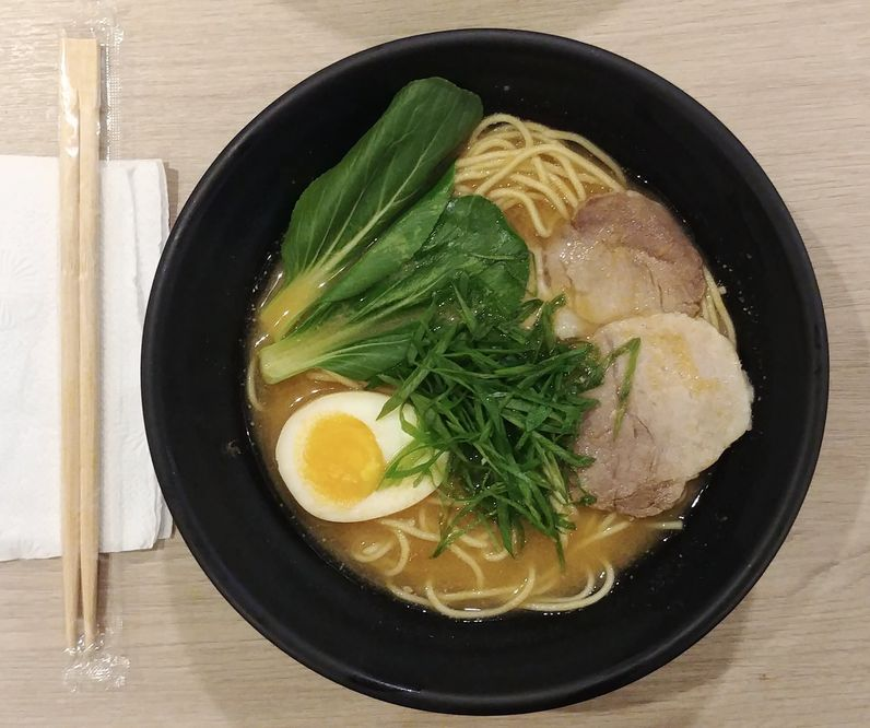 Miso Vegee Ramen from Tomochan Ramen Express