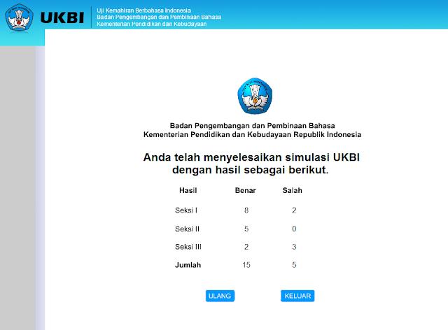 Uji Kemampuan Berbahasa Indonesia