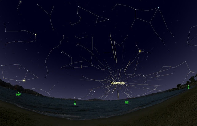Senarai Lokasi 'Viewing' Terbaik Untuk Tengok Hujan Meteor Quadrantis