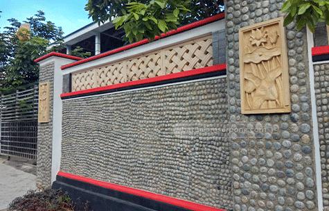 batu alam dinding
