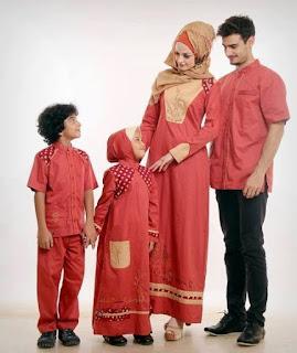 Model Baju Pesta Keluarga Muslim Modern Terbaru