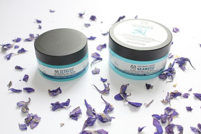The Body Shop - Seaweed Gel Cream and Clay Mask - The CSI Girls