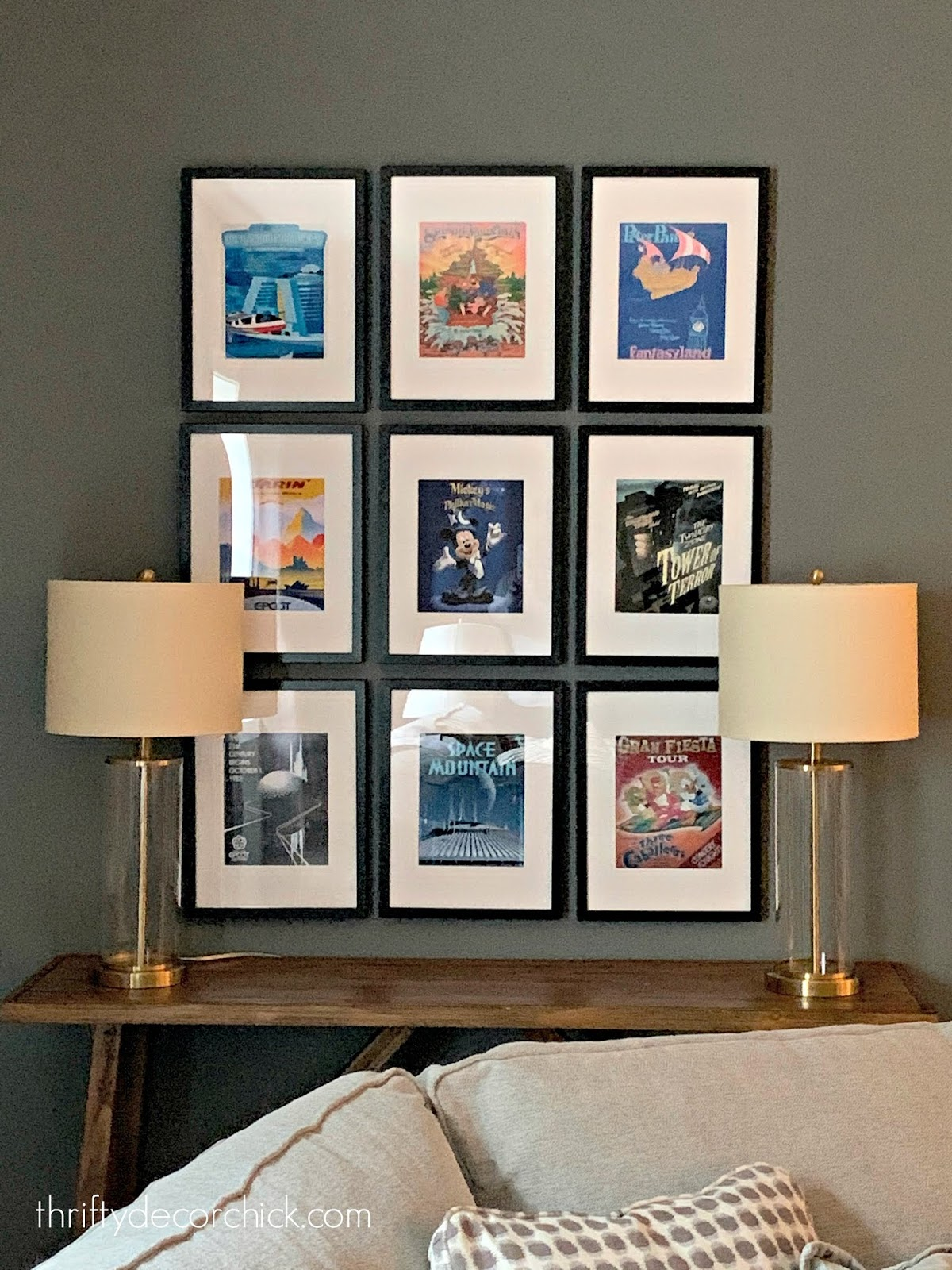 A grown-up way to add Disney decor without it feeling too themey