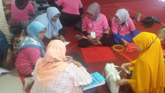 Workshop Pembuatan Dalamak, Lestarikan Kreatifitas Budaya Lokal