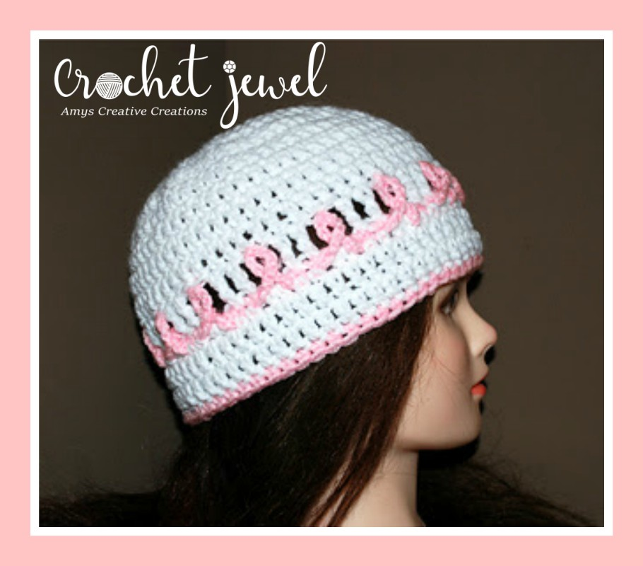 Amys Crochet Creative Creations Crochet A Pink Ribbon Cancer
