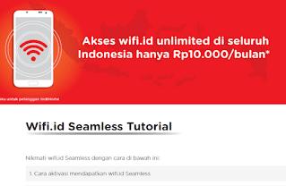 Cara Daftar Wifi.id Seamless Terbaru