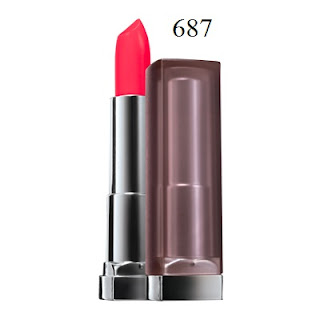 Son môi Maybelline Color Sensational Creamy Matte Lipcolor 687 All Fired Up  - SM017