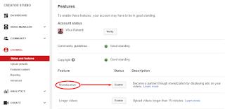 Pasang Iklan Adsense Di YouTube Dengan Mudah