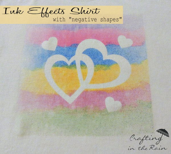 heart shadow shirt