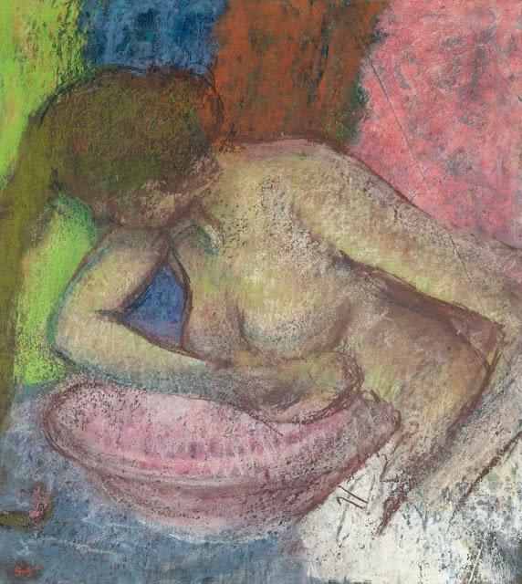 Эдгар Дега - Женщина за туалетом (1897)