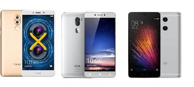 Honor 6X Vs Cool 1 Vs Xiaomi Redmi Pro