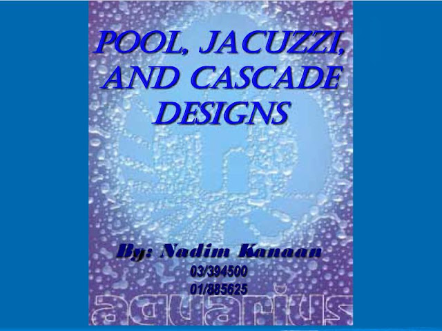 Swimming Pool and Jacuzzi Plumbing Design Course - PDF