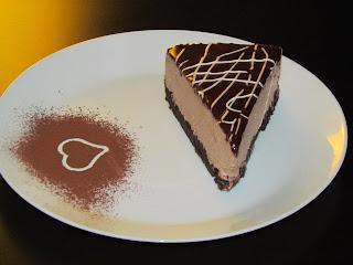 Tort cu mousse de ciocolata si cappucino / Cake with chocolate mousse and cappuccino