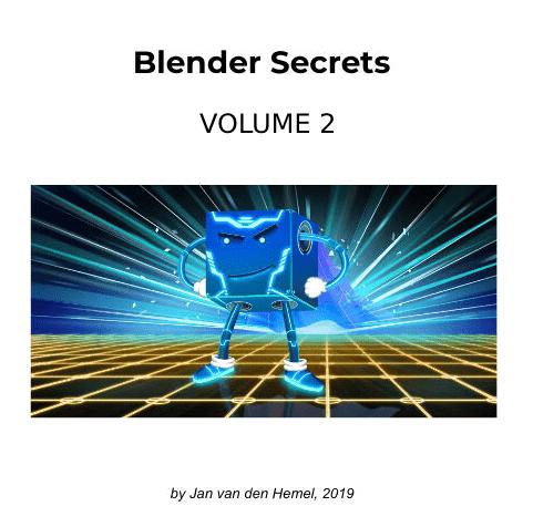 كتاب أسرار بلندر Blender Secrets Vol 2