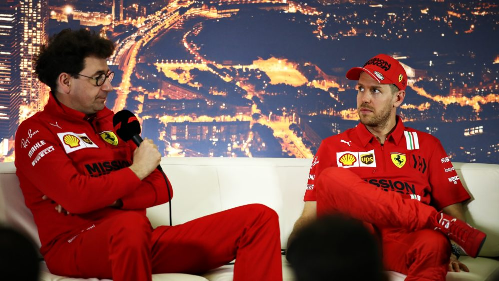 Sebastian Vettel tem mais chances de ficar na Ferrari