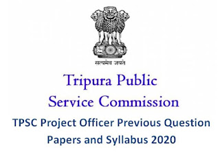 TPSC Project Officer Previous Question Papers