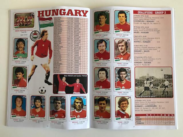 Figurine Ungheria Euro 76