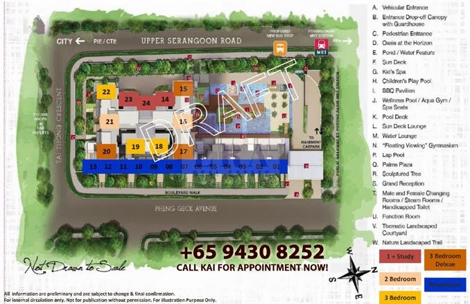 Sant Ritz Siteplan