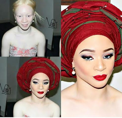 Check Out This Amazing Makeup Transformation Of Albinos