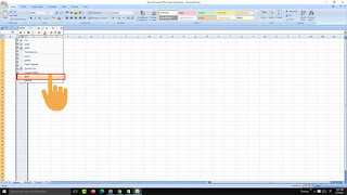 hide unused columns in excel