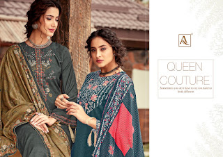 Alok Suits Yasha Pashmina Salwar Kameez Collection  At Diwan Fashion Surat
