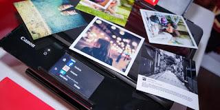 Canon Pixma TS8070, Bisa Cetak Langsung dari Instagram