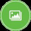 Trekker photos icon