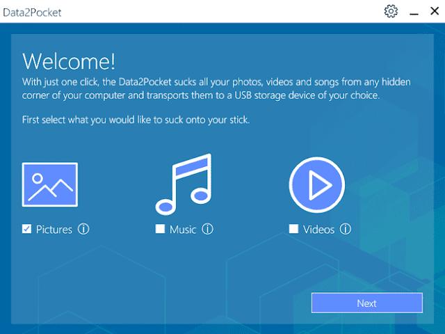 Screenshot Abelssoft Data2Pocket 2019 v1.2.57 Full Version