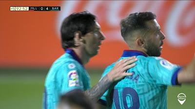 LFP-Week-28 Mallorca 0 vs 4 Barcelona 13-06-2020
