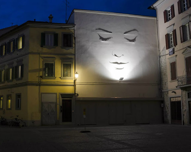 shadow art light by Fabrizio Coneli