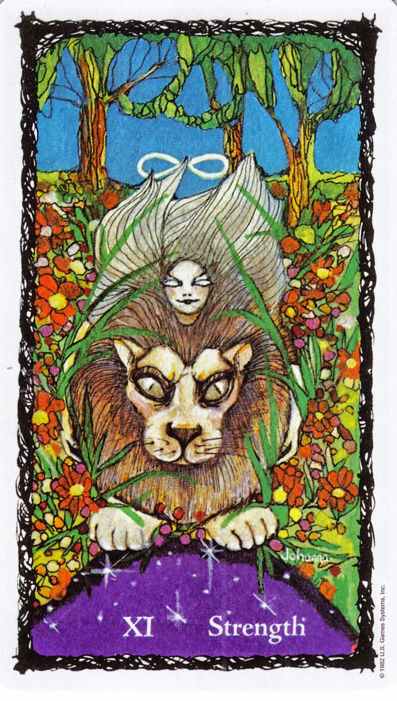 Rowan Tarot December 2012: Rowan Tarot: In The Jungle, The Mighty Jungle