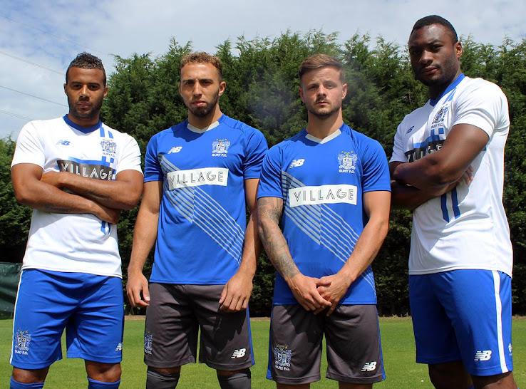 New Balance Bury FC 15-16 Kits Revealed - Footy Headlines