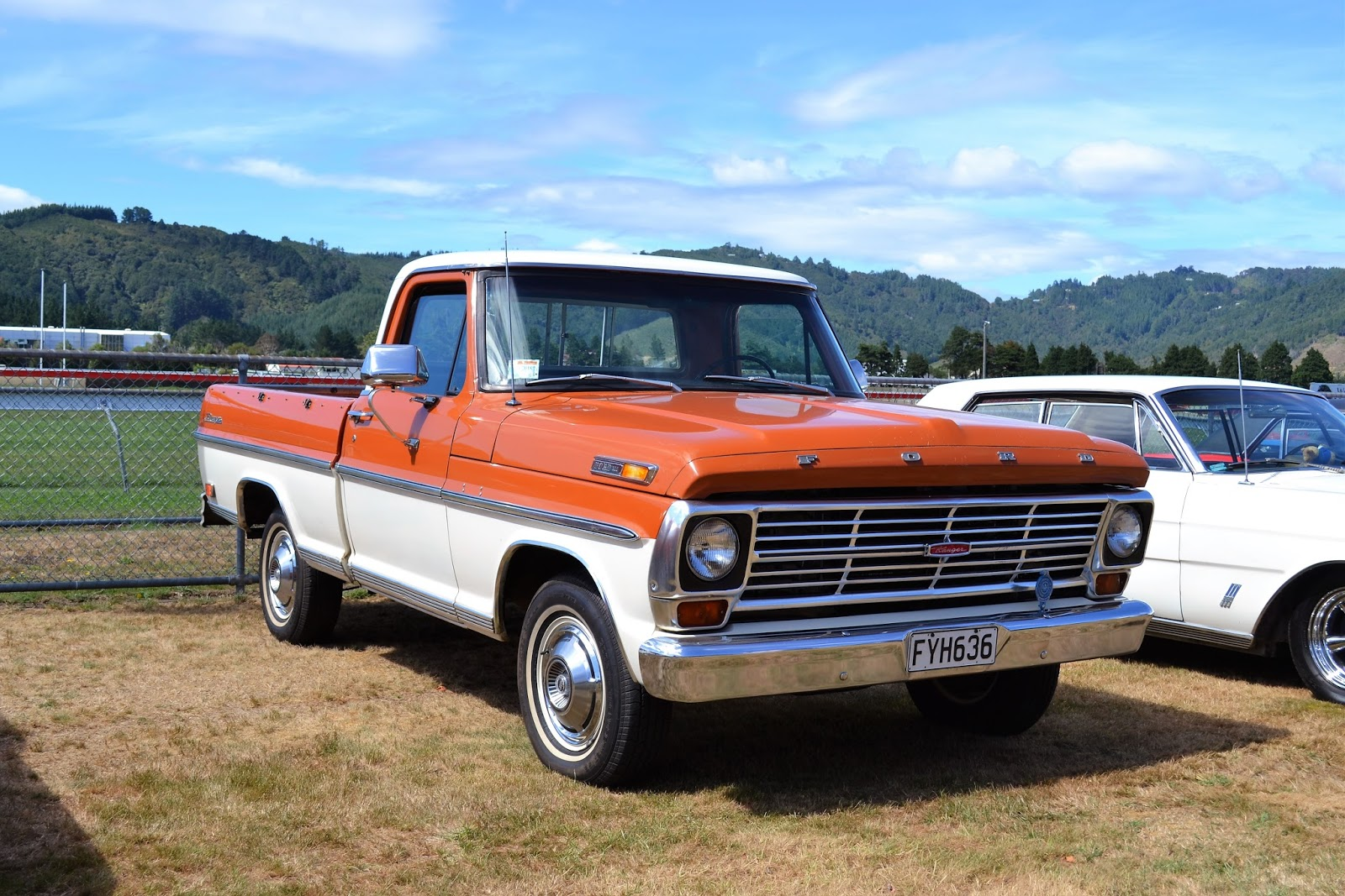 The Road Ranger Blog American Car Day 2018 1 1969 Ford F100