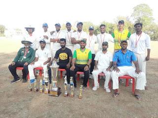 लेदर बॉल क्रिकेट प्रतियोगिता में बड़ौदा स्पोर्टस क्लब विजेता
