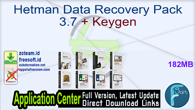 Hetman Data Recovery Pack 3.7 + Keygen_ ZcTeam.id