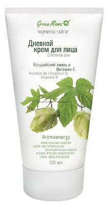 Kem mặt ban ngày Green Mama được chiết xuất từ hoa Bia vùng Ussuri và Vitamin E 100ml