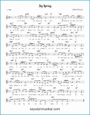 joy spring lagu jazz standar