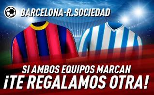 sportium promo Barcelona vs Real Sociedad 16 diciembre 2020