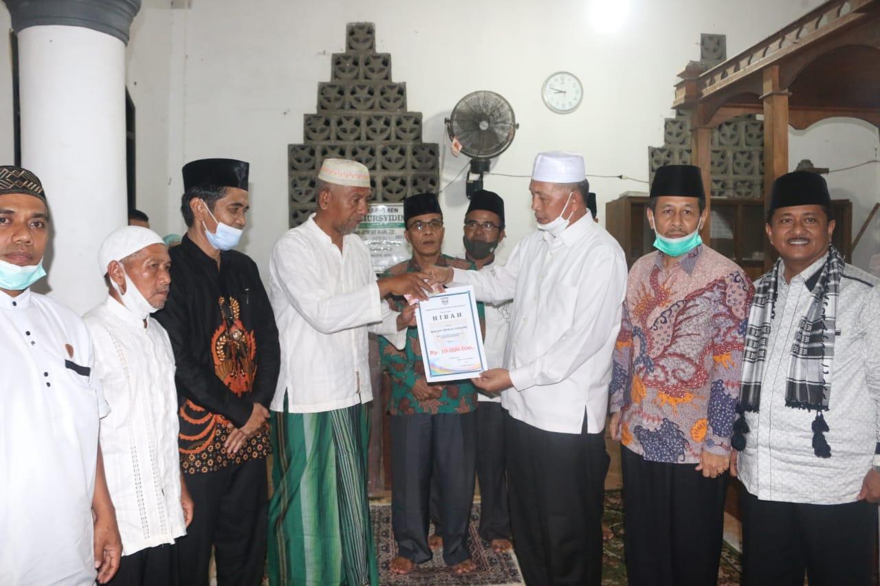 Safari Ramadhan, Bupati Hamsuardi Kunjungi Masjid Berusia 100 Tahun Lebih