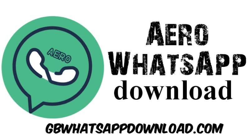 Aero WhatsApp the latest version 10.0.2 Anti-Ban Apk for android 2020.