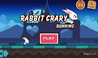 Rabbit Crazy Running