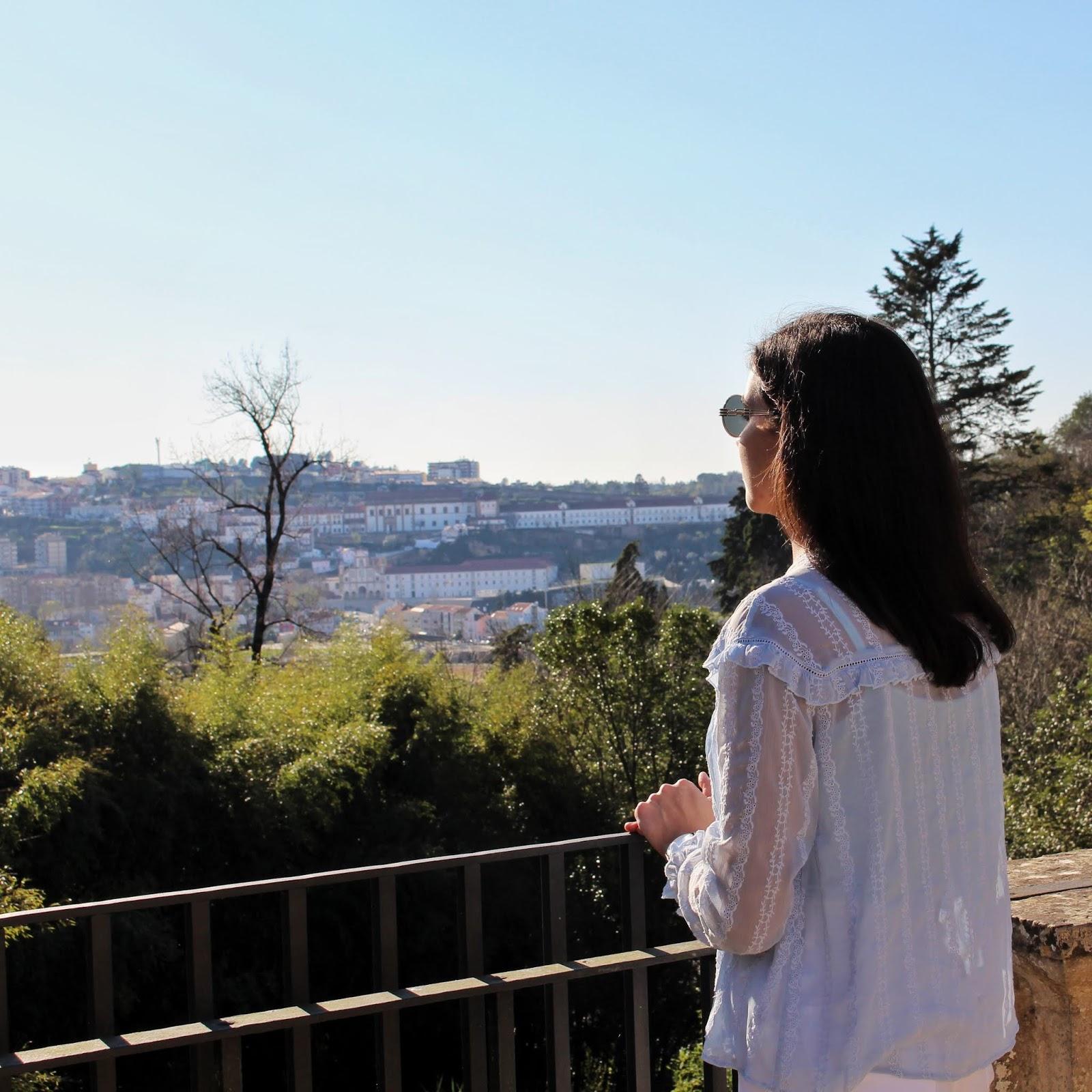 Vista sobre a cidade de Coimbra