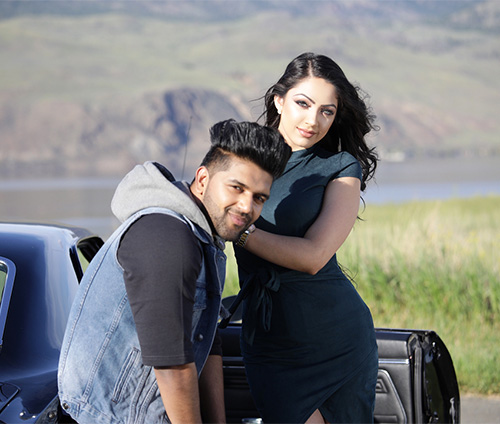 Sonia K actress in High Rated music video Guru Randhawa