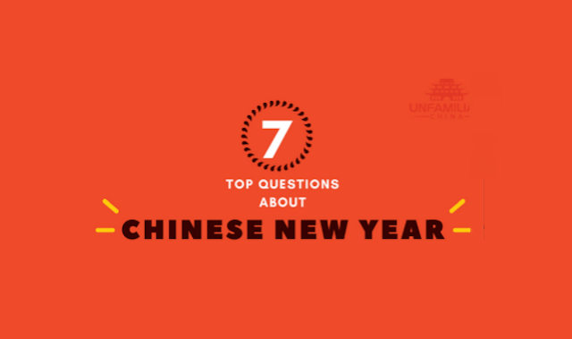 What is the Chinese New Year? And Other Questions #Infographic