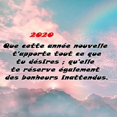 Sms Et Texto Bonne Année 2020 Messages Et Sms Damour