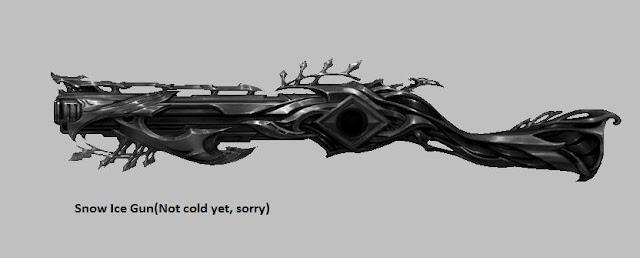 Snow Ice Gun | Weapon Skin [Force Gunner]