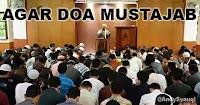 Agar Doa Mustajab