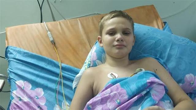 У 11-летнего Виталика из Мариуполя обнаружили лимфому. Как помочь мальчику победить болезнь